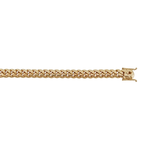 14K YG 12.0MM MIAMI CUBAN LINK