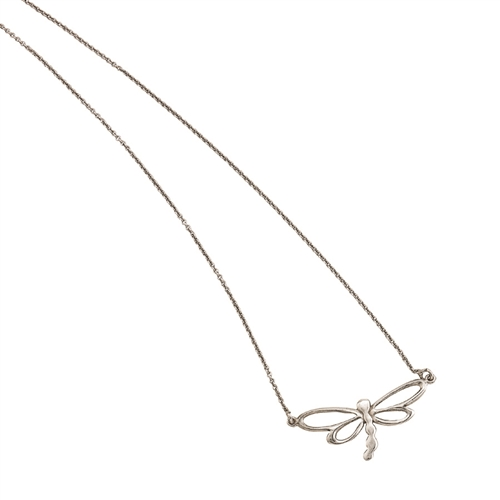 "SSRHD POLISHED DRAGONFLY NECKLACE 16""+2"" EXT"