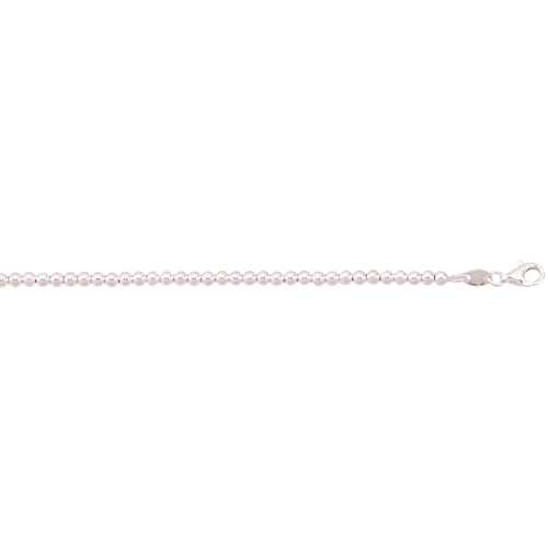 SS 3.0mm POLISHED BALL CHAIN